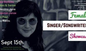 Next show: September 15th @ Coconut Grove Songwriter Showcase